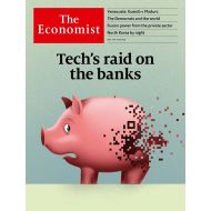 The Economist: Techs raid on the bank - No.18.19