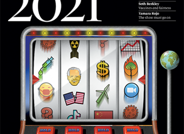 2021 will be a year of luck, risk taking and chance according to The Economist's The World in 2021